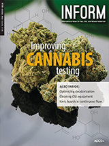 INFORM cover improving cannabis testing