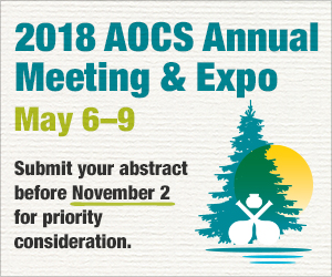 AOCS Annual Meeting