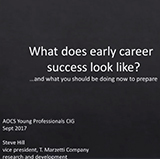 What does early career success look like? ... and what you should be doing now to prepare