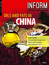INFORM cover oils and fats in China