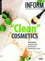 INFORM cover clean cosmetics
