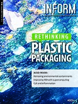 INFORM cover rethinking plastic packaging