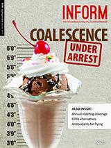 INFORM cover coalescence under arrest