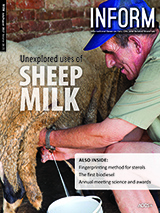 INFORM cover unexplored uses of sheep milk