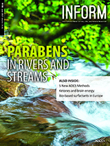 INFORM cover Parabens in rivers and streams