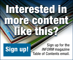 Sign up for the INFORM TOC